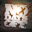 No Days Off mixtape cover art