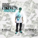 P. Kellz - Koncrete Hustle mixtape cover art