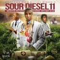 Sour Diesel 11 mixtape cover art