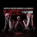 Swav3 Mook - No Support mixtape cover art