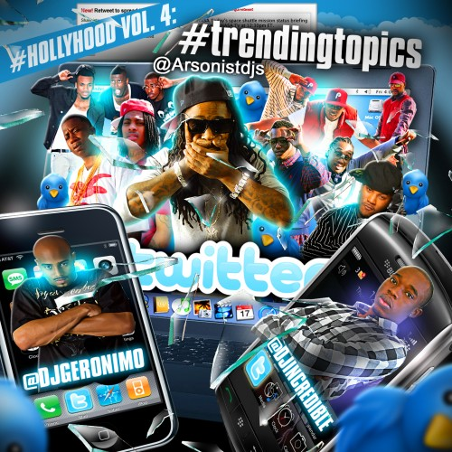 HollyHood 4  #TrendingTopics Mixtape ft. Waka Flocka Flame & Gucci Mane