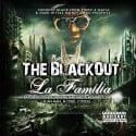 Hard Hittaz Money Gang - The BlackOut La Familia mixtape cover art