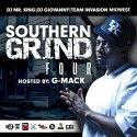 Southern Grind 4 (Hosted By G-Mack) mixtape cover art