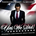 Yes We Did! mixtape cover art
