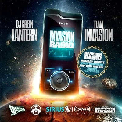 DJ Green Lantern - Invasion Radio 2K10 Mixtape