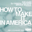 How To Make It In America (Hosted By Kid Cudi) mixtape cover art