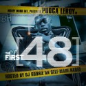 Pooca Leroy - First 48 mixtape cover art