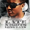 Daquon Da Don - Late Nights, Long Days mixtape cover art