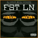 FST LN - Slick Talk mixtape cover art