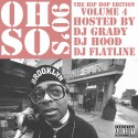 Oh So 90's 4 (The Hip Hop Edition) mixtape cover art