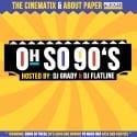 Oh So 90's mixtape cover art