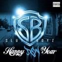 Slutty Boyz - Happy Dew Year mixtape cover art