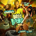 Topdolla Sweizy - Bottles & Bitches mixtape cover art