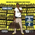 Young Crazy - Definition Of Crazy 2 mixtape cover art