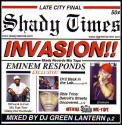 Shady Invasion mixtape cover art