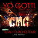 Yo Gotti - Road To Riches Tour mixtape cover art