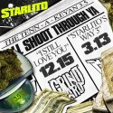 Starlito - The Tenn-A-Keyan 3.5 (I'll Shoot Through Ya) mixtape cover art
