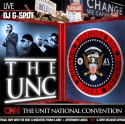 The UNC (Unit National Convention) mixtape cover art