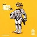Guy's SuperFriends 10 mixtape cover art