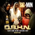 Sic-Min - D.B.H.N. mixtape cover art