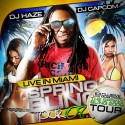 Lil Wayne - Live In Miami (Spring Bling Tour '08) mixtape cover art