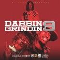 Dabbin & Grindin 9  mixtape cover art