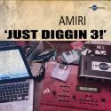 Amiri - Just Diggin 3! mixtape cover art
