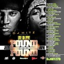 Young Jeezy & Lil Wayne - Pound For Pound mixtape cover art