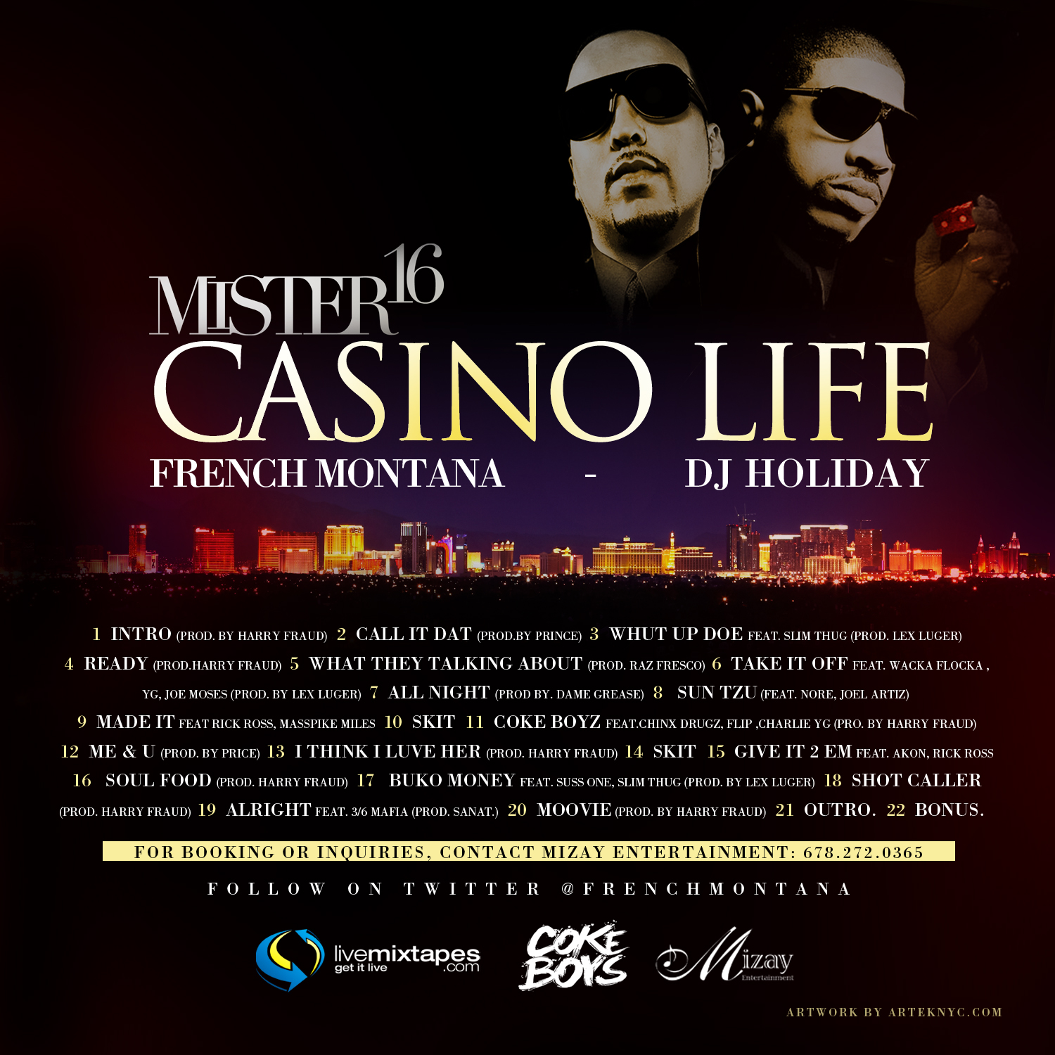 Mixtape casino 15 midas touch casino