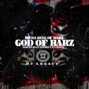 R.K - God Of Barz mixtape cover art