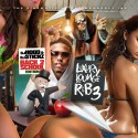 Luxury Lounge R&B 3 (Back 2 School Edition) mixtape cover art