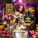 Luxury Lounge R&B 4 (Bottles Poppin') mixtape cover art