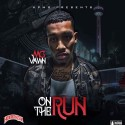 MG Vawn - On The Run mixtape cover art