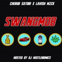 BLMN - Swangmob mixtape cover art