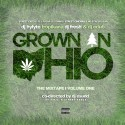 #GrownInOhio mixtape cover art