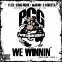PCG - We Winnin mixtape cover art