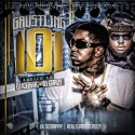 Lil Scrappy & Rolls Royce Rizzy - Grustling 101 mixtape cover art