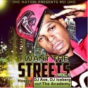 MD Uno - I Want These Streets mixtape cover art