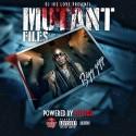 Big Gipp - The Mutant Files mixtape cover art