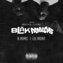 B Mims & Lil Mont - BLAKProblems mixtape cover art