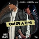 Chris Brown & Tyga - Fan Of A Fan mixtape cover art