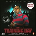 K-Dot (Kendrick Lamar) - Training Day mixtape cover art