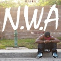 P2theLA - N.W.A. (The Ill Edition) mixtape cover art