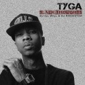 Tyga - Black Thoughts mixtape cover art