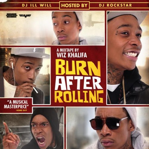 Wiz Khalifa - Burn After Rolling Mixtape