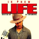1K Phew - Life mixtape cover art