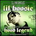 Lil' Boosie - The Hood Legend Series mixtape cover art