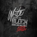 Shane & Walt Deez - Write Around The Block mixtape cover art