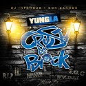 Yung L.A. - Crush Da Block mixtape cover art