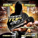 Tapes Top 20 Indy Artists 4 mixtape cover art